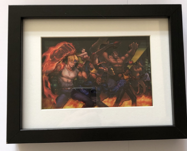 Streets of Rage 3D Art Diorama